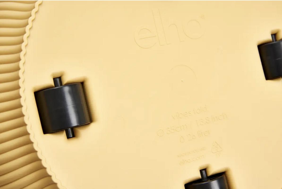 Elho2022 Vibes fold rond wielen 35 x 32 cm
