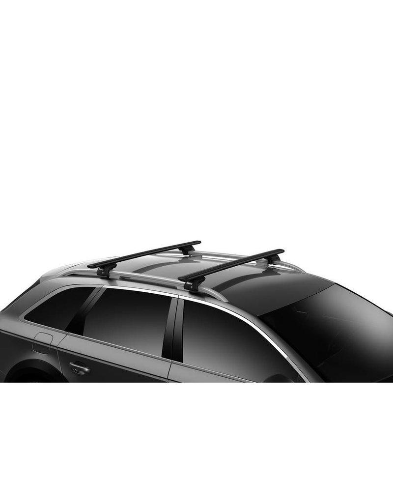 stangset Wingbar Evo  150cm Zwarte uitvoering