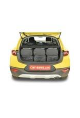 Car-Bags reistassen set Kia Stonic (YB) 2017-heden (verstelbare laadvloer in bovenste stand)