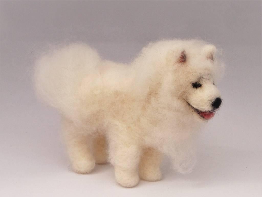 De Wolshoop Hond Samojeed