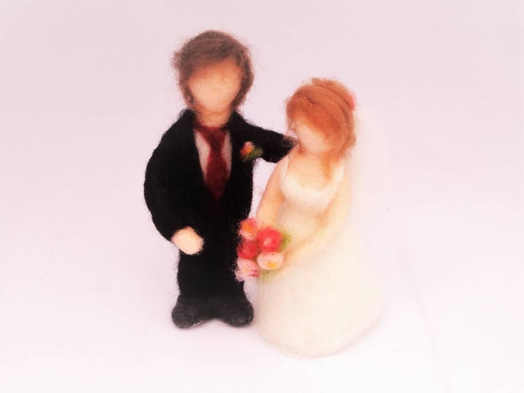 De Wolshoop Bruidspaar