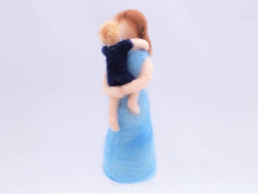 De Wolshoop Moeder met kind