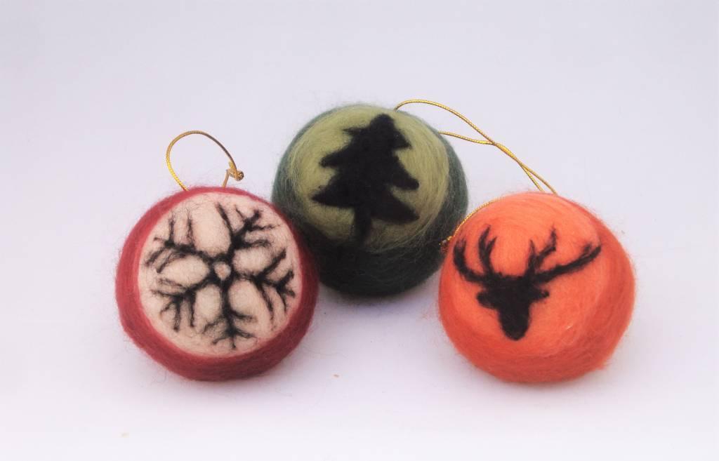 De Wolshoop Kerstbal