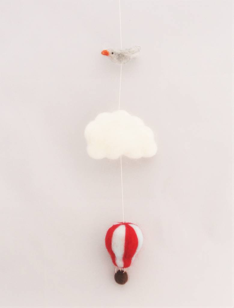De Wolshoop Luchtballon slinger