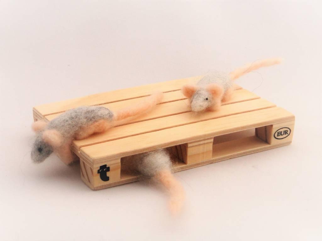 De Wolshoop Pallet met muizen
