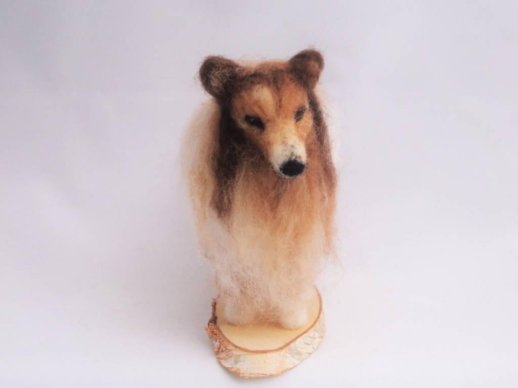 De Wolshoop Hond Collie blond
