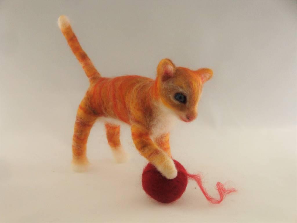 De Wolshoop Rode kitten