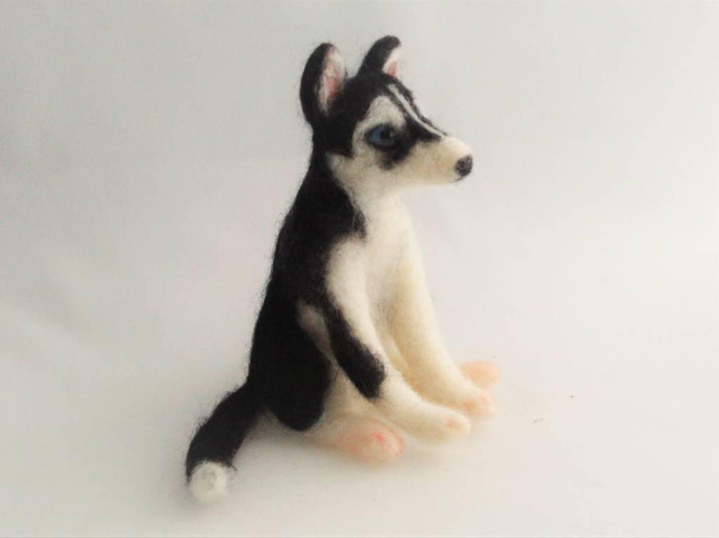 De Wolshoop Hond Husky