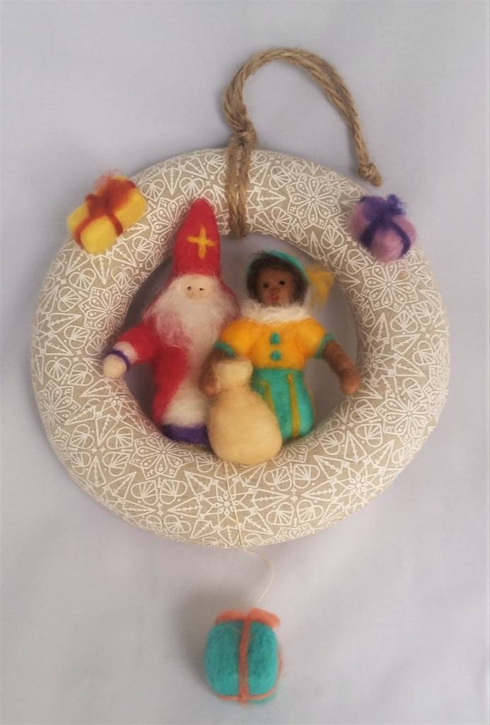 De Wolshoop Krans Sinterklaas