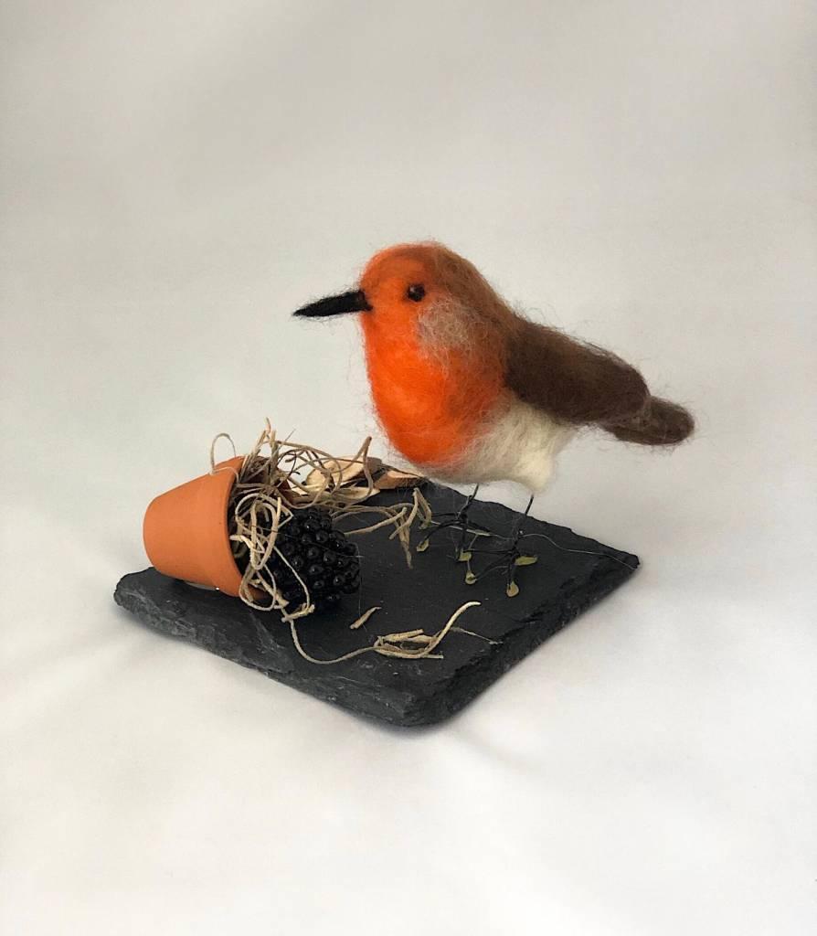 De Wolshoop Vogel ornament
