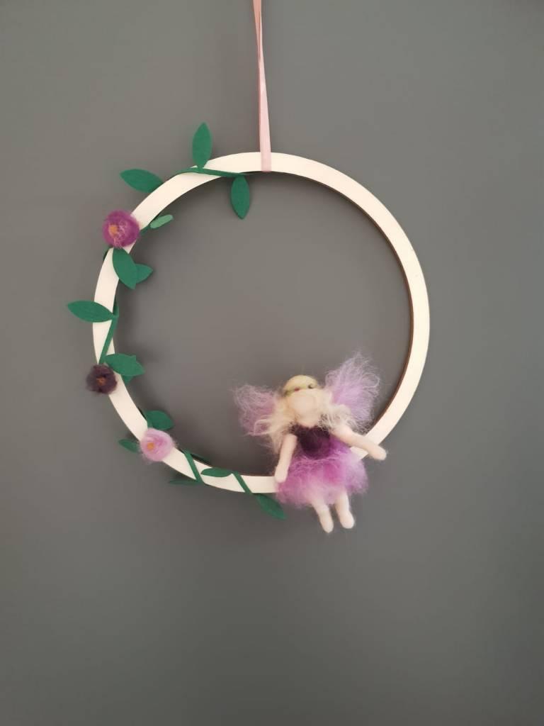 De Wolshoop Hanger Lente Elfje purple