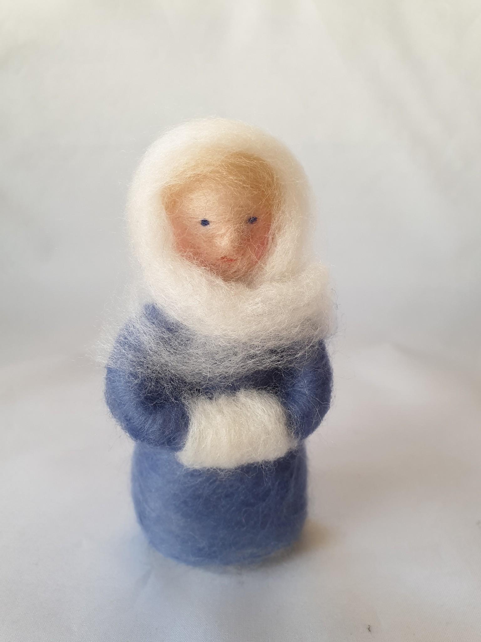 De Wolshoop Wintervrouwtje Blauw