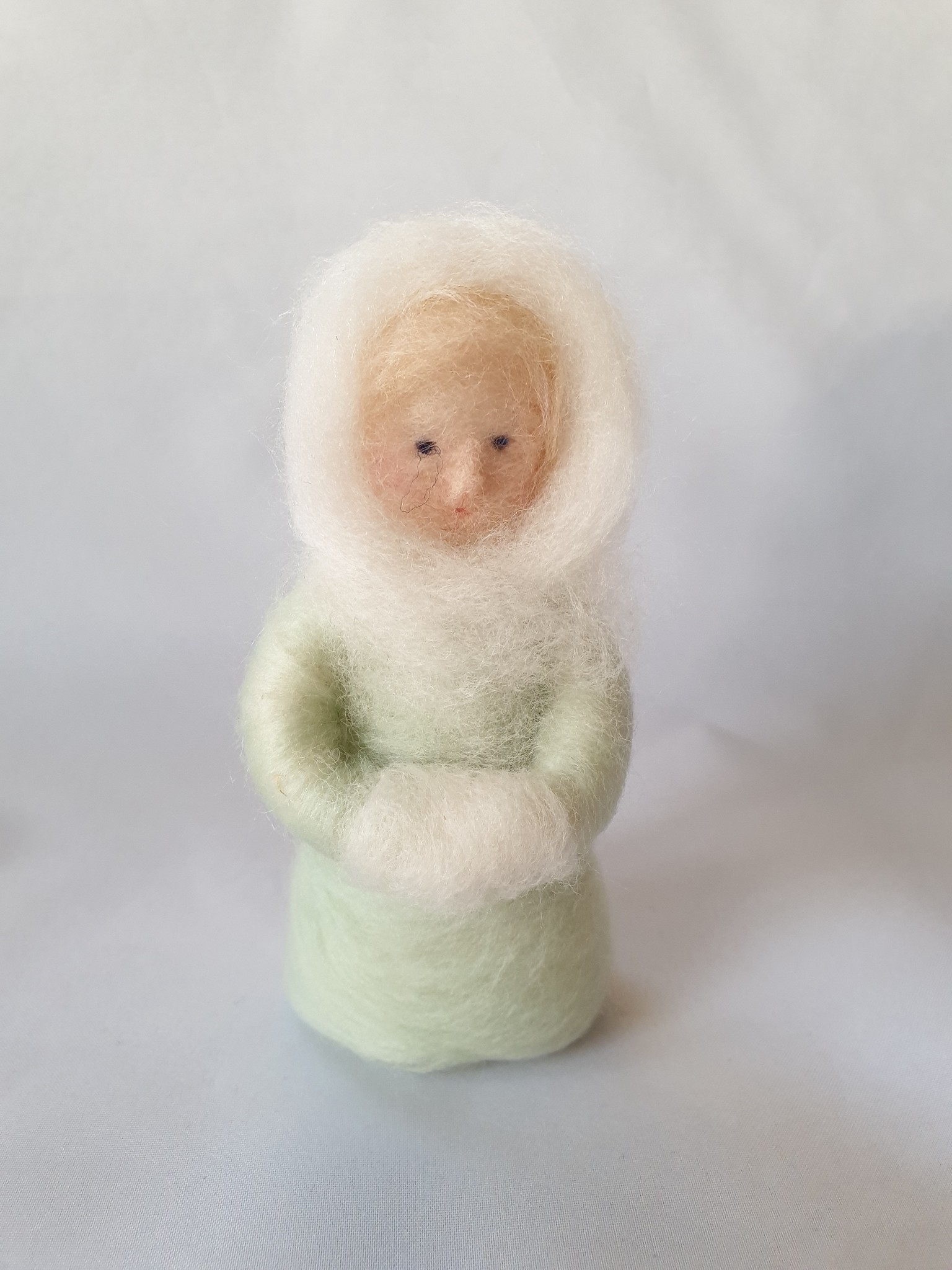 De Wolshoop Wintervrouwtje Mintgroen