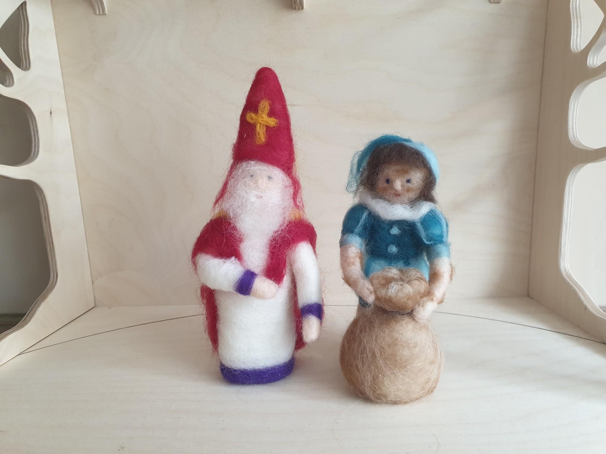 De Wolshoop Piet met zak