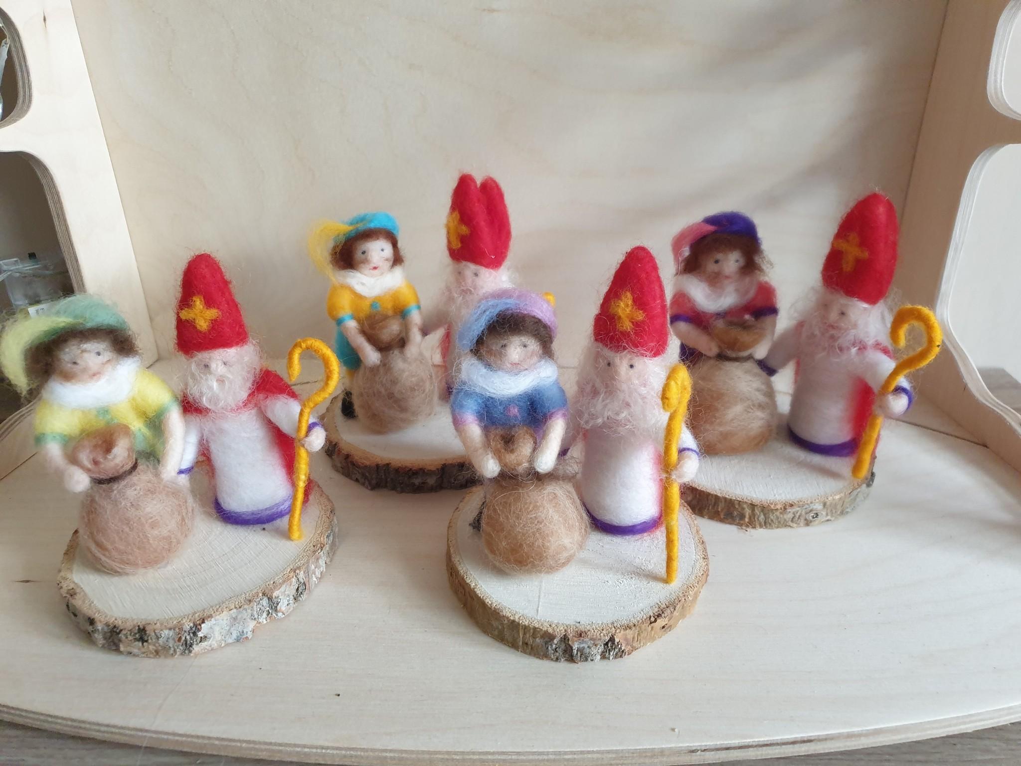 De Wolshoop Sint en Piet setje - mini