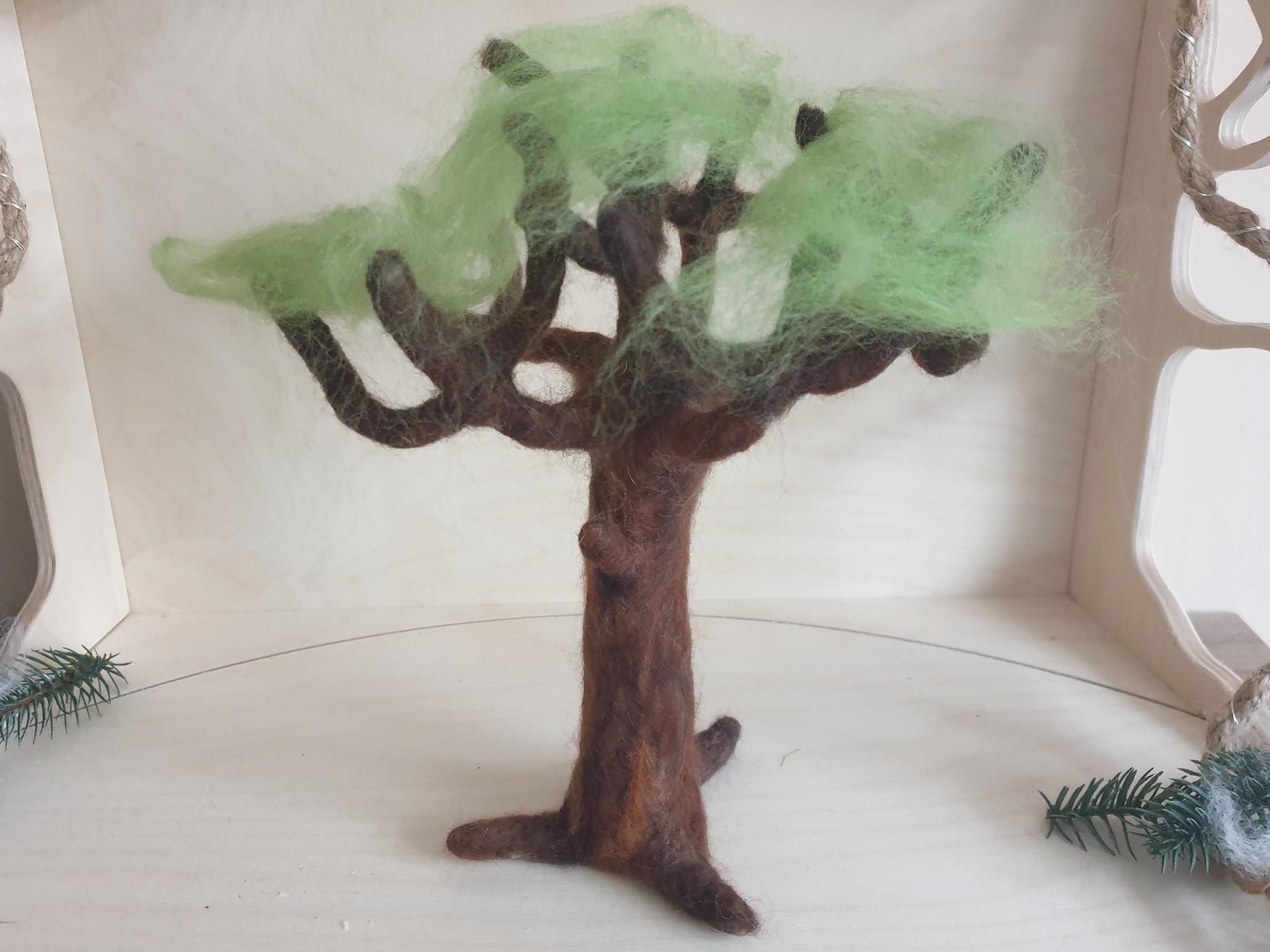De Wolshoop Seizoen boom