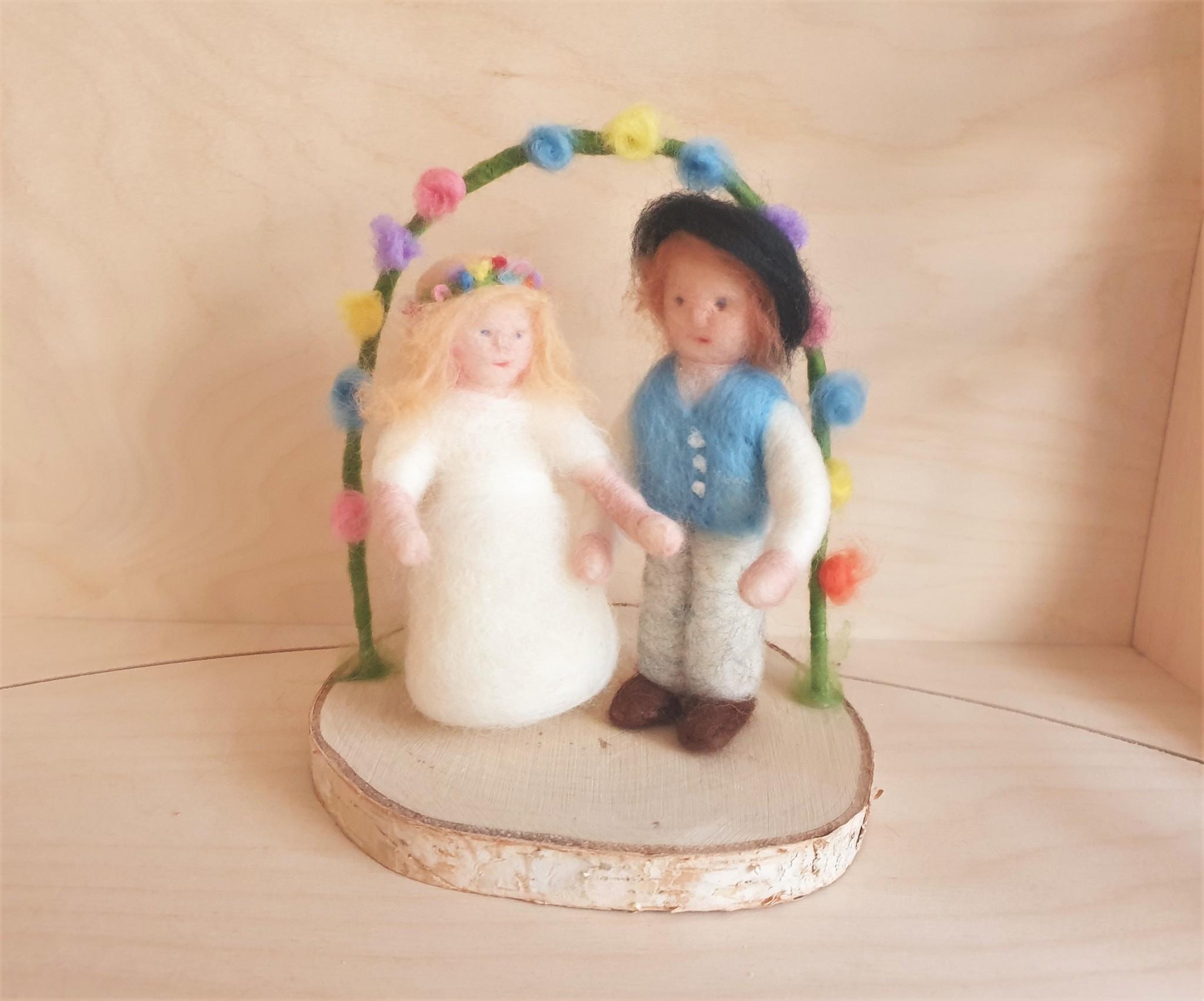 De Wolshoop Pinksterbruid & bruidegom