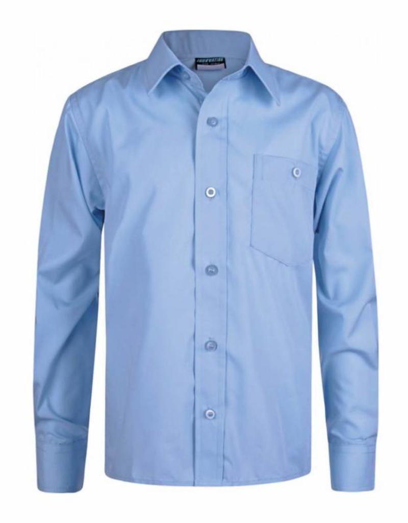 Sky Blue Long Sleeve Shirt Twin Pack