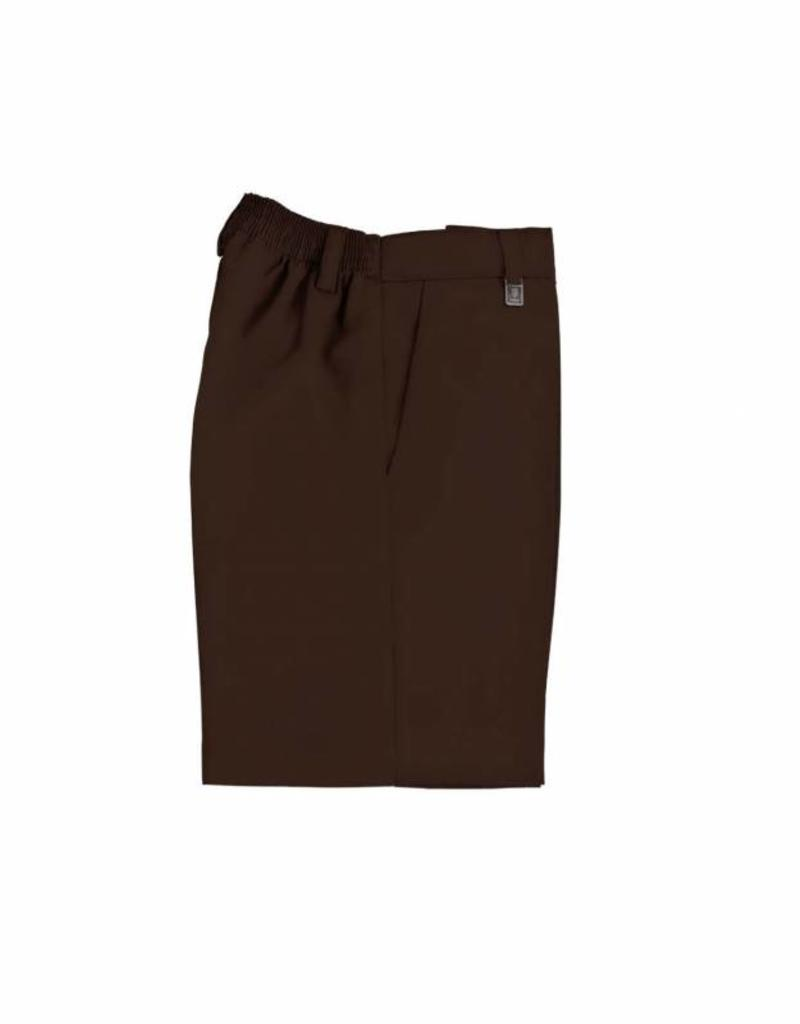 Brown Shorts With Clip