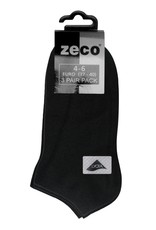 Black Trainer Sock