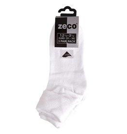 Girls White Turnover Socks (3 Pack)
