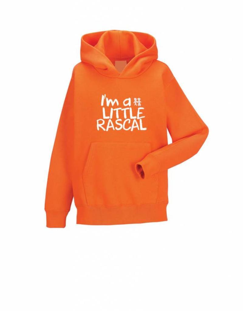 Little Rascals Orange Hoodie