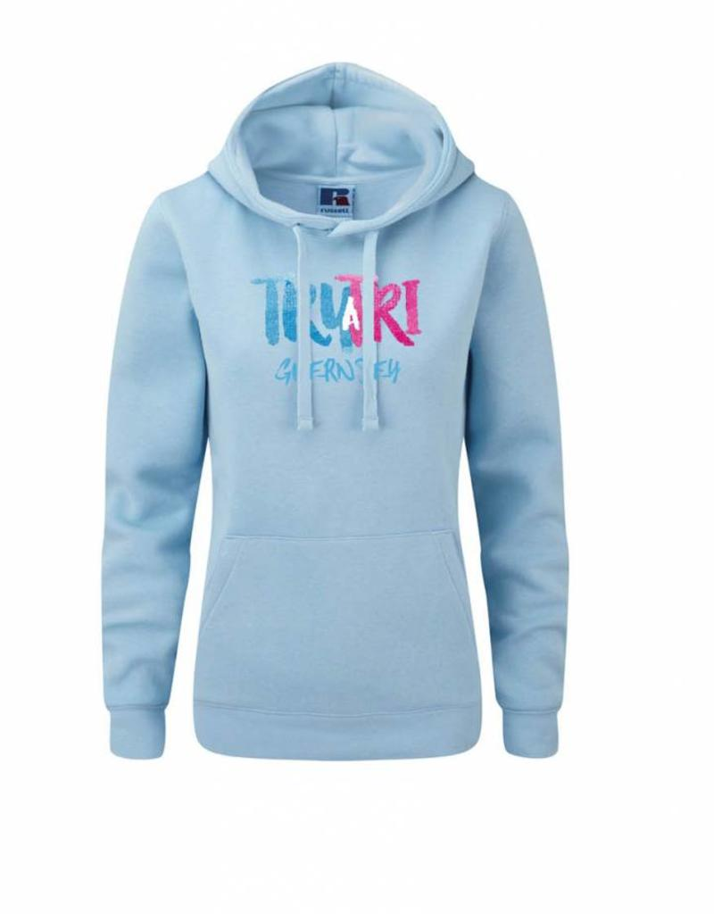 Try-A-Tri Guernsey Ladies Supersoft Hoodie