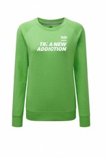 Ladies 'Tri A New Addiction' Raglan Sweatshirt