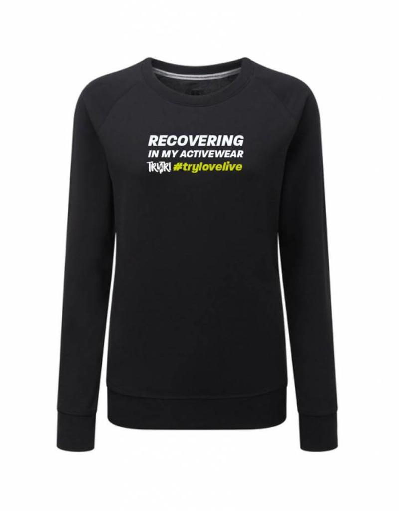 Unisex RECOVERING IN MY ACTIVEWEAR Supersoft Sweatshirt
