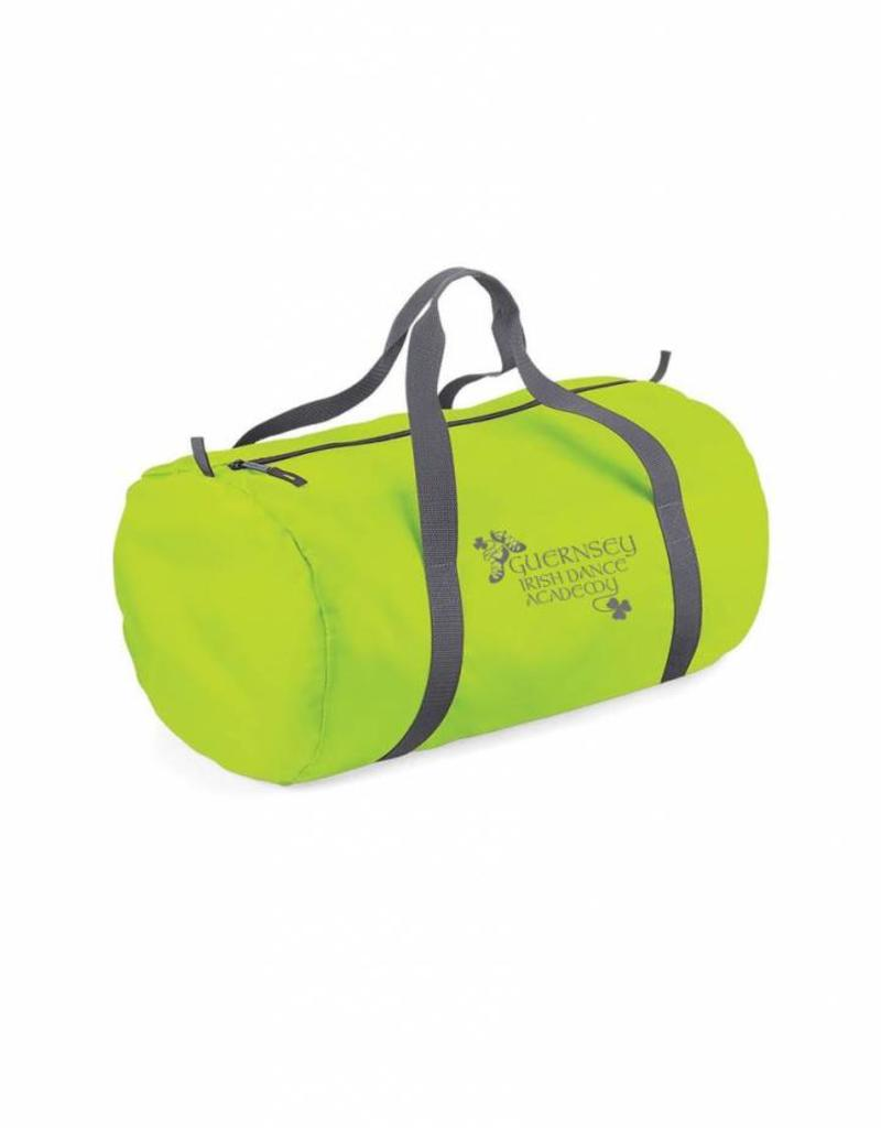 Guernsey Irish Dance Academy Travel Packaway Barrel Bag