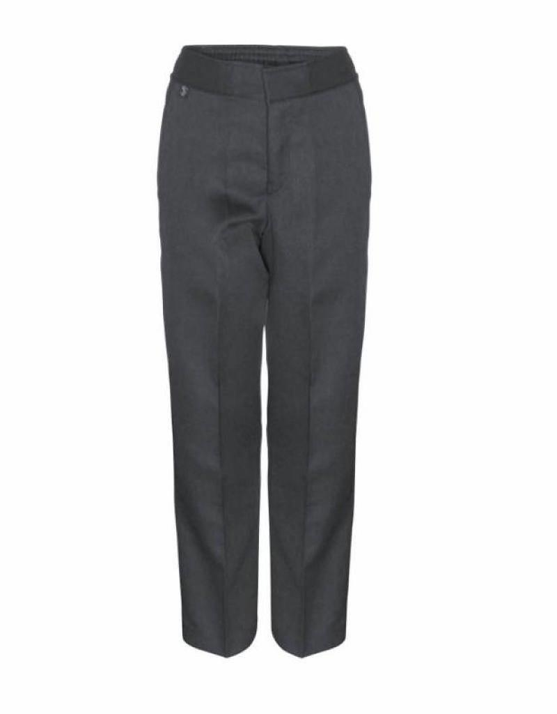 Boys Primary Trousers Slim Grey