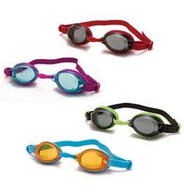 Red/Smoke Colour Childrens Speedo Swimming Goggles