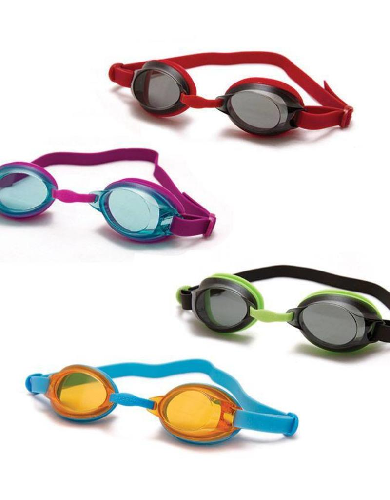Red/Smoke Colour Childrens Speedo Swimming Goggles