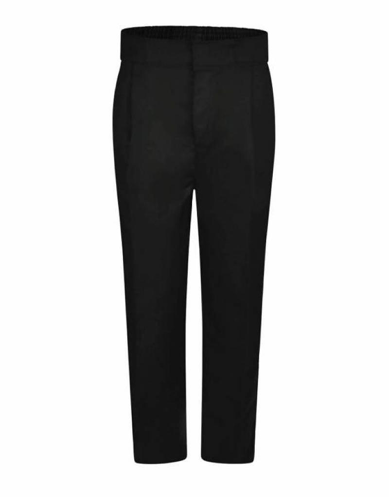 Boys Trousers Pull Up Regular Black