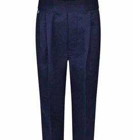 Boys Trousers Pull Up Regular Navy