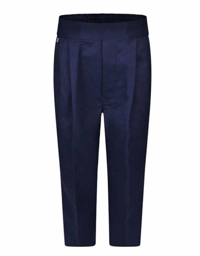 Boys Trousers Pull Up Regular Navy