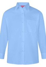 Sky Blue  Long Sleeve Blouse Twin Pack