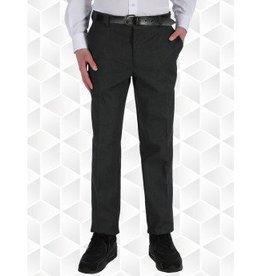 Boys Trousers Slim Fit Black