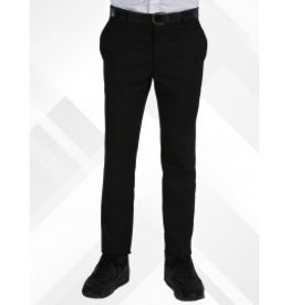 Boys Trousers Skinny Fit Black