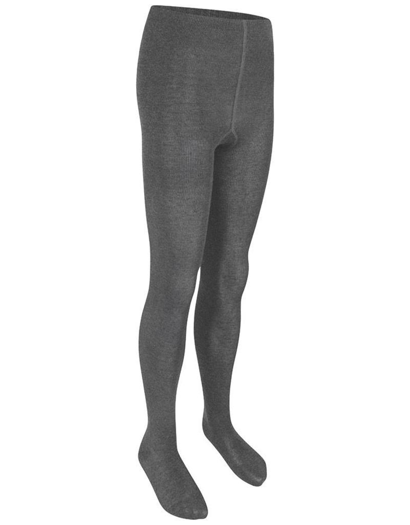 Girls Grey Cotton Soft Tights