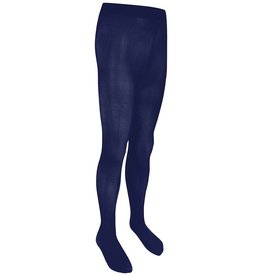 Girls Navy Opaque Tights