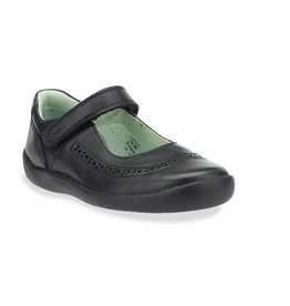 Start Rite Start Rite Lizzy Black Leather Shoe