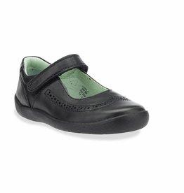 Start Rite Start Rite Lizzy Black Leather Shoe