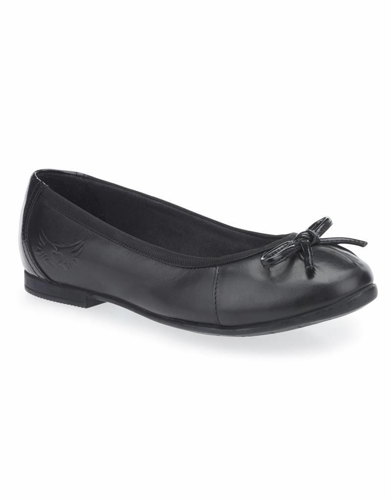 Start Rite Start Rite Ballerina Black Leather Shoe