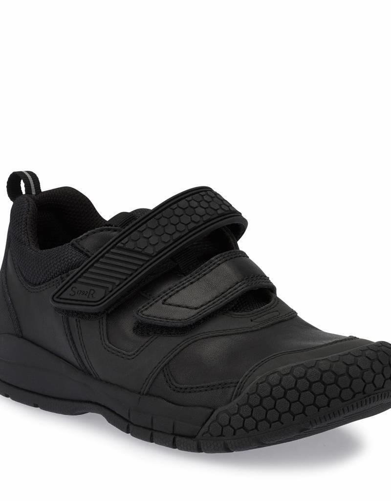 Start Rite Start Rite Score Black Leather Shoes