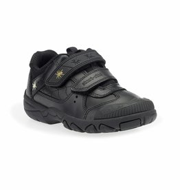 Start Rite Start Rite Tarantula Black Leather Shoe