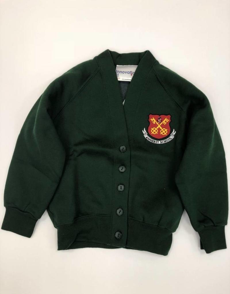 Amherst School Sweatshirt Cardigan