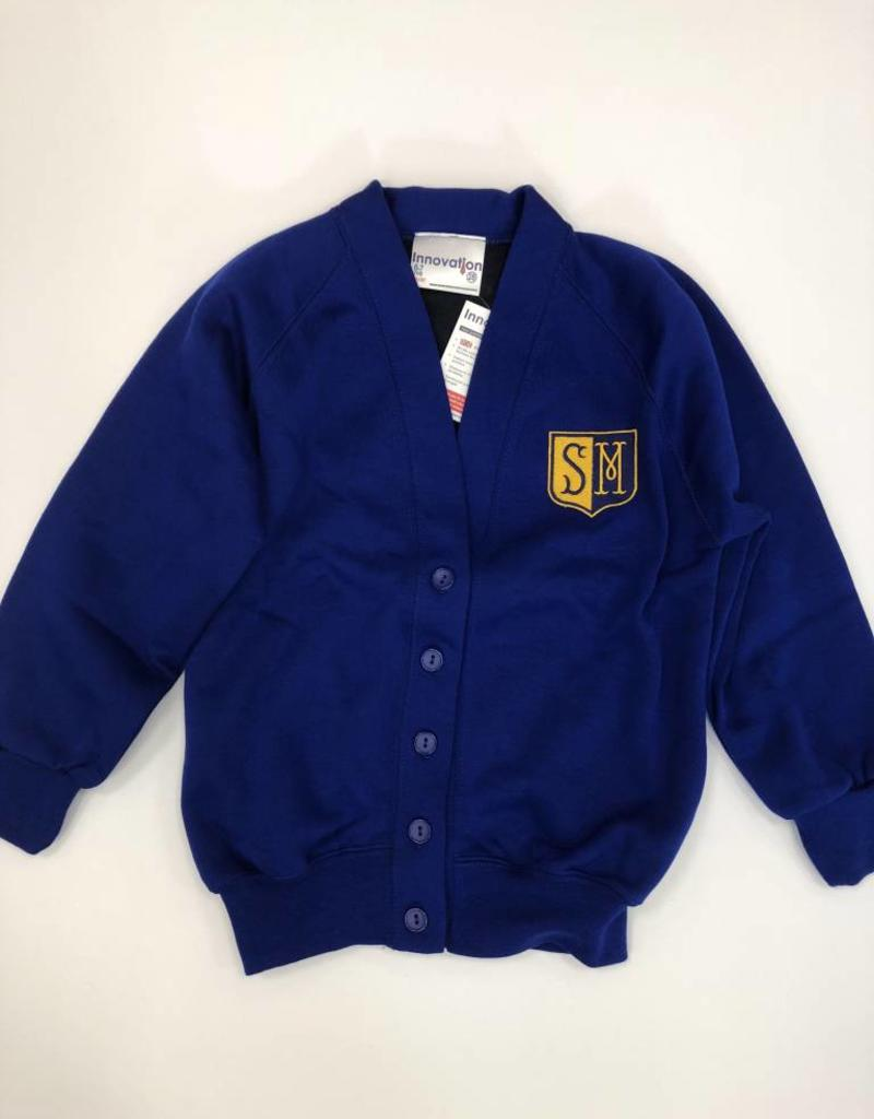 St Martins Primary Sweatshirt Cardigan