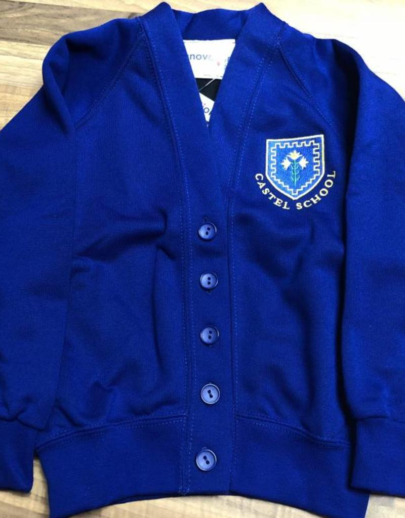 Castel School Sweatshirt Cardigan
