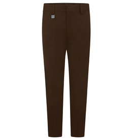 Brown Slim Fit Trousers
